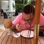 Завтрак с кокосом
