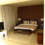 our bedroom at La Vista