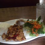 Kung Pao Chicken, one of the luch specials.