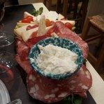 piatto salume e formaggio