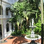 Raffles Garden from Writers'Terrace