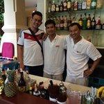 Best bartender! Kwang & Joe