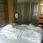 Bedroom of 1-bedroom apartment