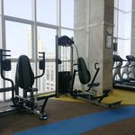 Gym on top floor