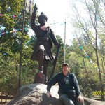 Statue of King Prithivi Narayan Shah`
