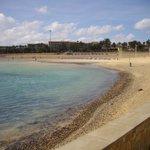 Spiaggia dell'hotel