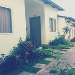 Garden with direct access to your room- this place is more than an simple accomodation.. It is q