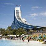 Jumeirah Beach Hotel [taken from waterpark]