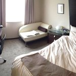 Our room on the seventh floor.