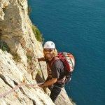 Climbing Sonjannika, Costa Blanca