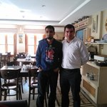 Ramazan and me- brilliant hospitality at Sultan House