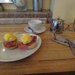 breakfast 2, eggs benedict (well I am a Cumberb*tch)