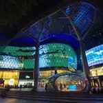 Entrance to Orchard MRT station at ION Orchard Mall