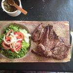 """a juicy """"Vacio"""" steak"""