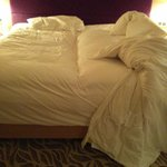 """STAY AWAY - """"king bed"""" (actually made of 2 single beds)"""
