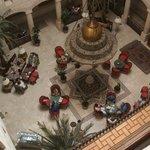 Inner courtyard from Floor 3