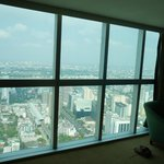 Wall of windows floor 65