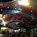 Uncle George's tent