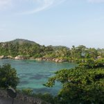 The view from the hotel - Anse L'Islette