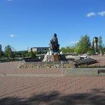 Piazza e monumento