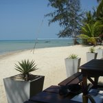 Bar direkt am Strand
