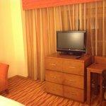 TV area in bedroom