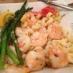 Pasta Bowl with shrimp