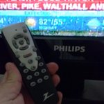 Mismatched TV remotes with no sleep mode and very limited functions.