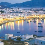 A photo of great Mykonos. View is close to Hotel.