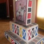 Ethnological Museum: artistic gravestone