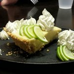 Delicious lime pie