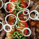 Mixed meat dish
