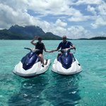 wave runners in Bora Bora