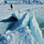 ice heaving