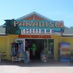 Front view Paradise Grille