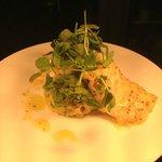 Roast Loin of Cod, Welsh-rarebit Glaze, Crushed Baby Potatoes & Horseradish...