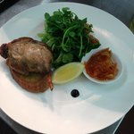 Confit Barbary Duck Leg with Penny`s Famous Carrot Chutney