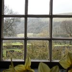 View out to Littondale from The Queens Arms, Litton