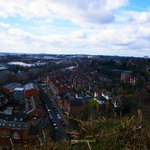 View from Nottingham Castle grounds