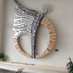 Part of Icaro's foyer