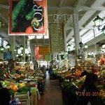Mercado perto do Hotel