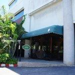 Entrance to Hotel Restaurant