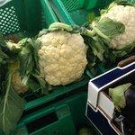 Market veg., outside your door!