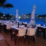 Seaside restaurant bitez