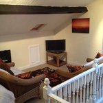 ATTIC TV/SEATING AREA