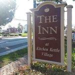 The Inn's sign on Old Philadelphia Pike