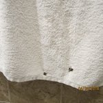 Towel with holes