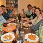 Convivio Rome : At last we get to enjoy our creations!