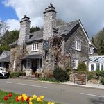 Historic stone built country house at Sandplace near Looe