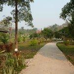 Le parc du resort